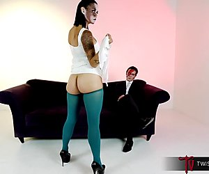 TwistedVisual.com - Asian MILF Rock Star Butt Fucked