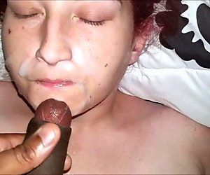 AMAZING CREAMY FACIAL CUMSHOT