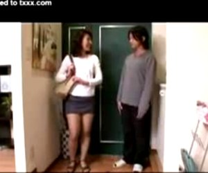 japanese guy loves mother friend son
