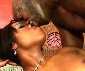 Spoiled strong black stud wins a chance to polish the asshole of Imani Rose