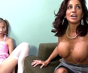 Tara Holiday and Chastity Lynn Share Black Cock