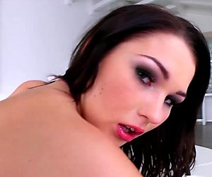 Prime Cups Big tit jiggle during pleasure session with Antonya