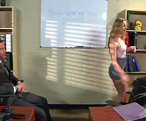 Jillian Janson gets her way with the boss