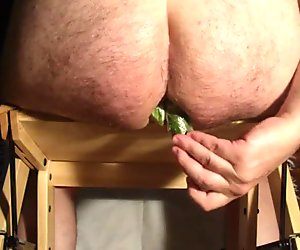 extreme insertion 4 cucumber in my ass