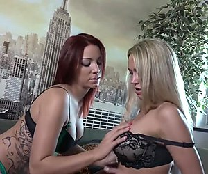 Hot German Blond Lesbo