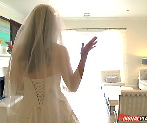 Jasmine Jae is one hot bride