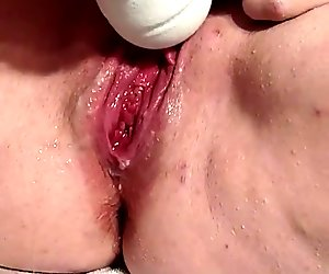 cumming hard and squirting