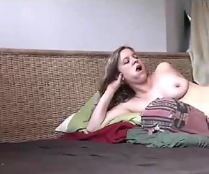 Pussy from dating site with bouncing boobs