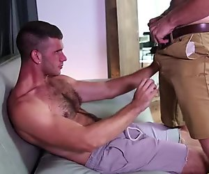 Jimmy and Landon pairs off for anal fuck fest