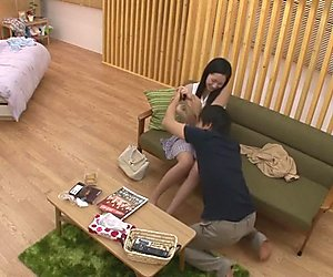 Amazing Japanese girl Erika Momotani in Exotic couple, handjobs JAV movie