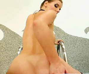 Pure Pov Waitress gave my cock some extra attention
