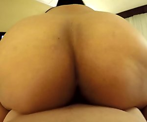 Asian MILF Reverse Cowgirl and Creampie