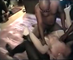 Gangbang Archive Interracial wife orgy Use that slut