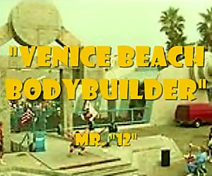 Venice Beach 12 Inch Dick Champion Bodybuilder..A Lemuel Perry Film....!!!!