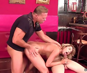 Perfect MILF in Real Porn Casting with Anal DP and Facial