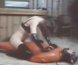 Males tied up helpless and dominated by 2 mistress