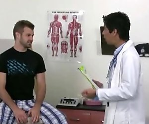 Lovely dude with doctor