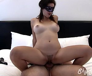 Nervous College Girl Creampied