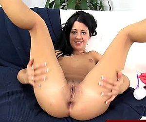 Juicy cherry babes anal play close up