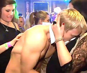 Savvy and untamed orgy party