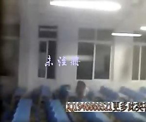 Candid blowjob in classroom China