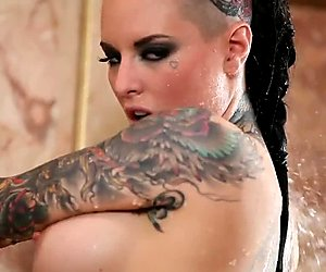 Christy Mack's super sexy shower tease