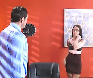 Anna De Ville and Preston both moans and enjoying ass fucking