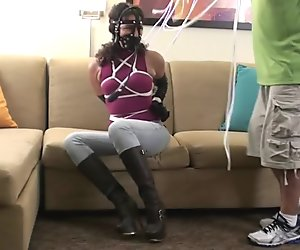 Muzzled Boots Big Gag