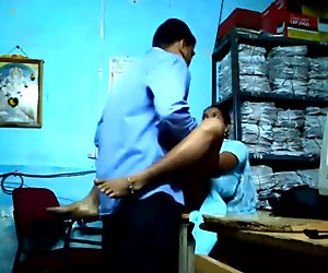 Indian girl fucking in office